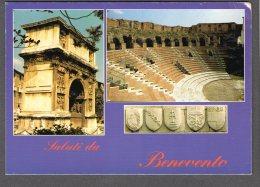 BENEVENTO Arco Traiano E Teatro Romano FG NV SEE 2 SCANS - Benevento