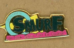 L# - PIN´S:  SMURF - Marques