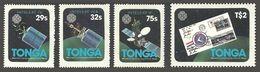 TONGA 1983 WCY WORLD COMMUNICATION YEAR SET MNH - Tonga (1970-...)
