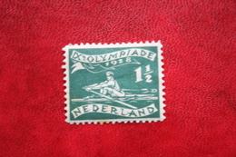 1 1/2 Ct Olympiade Zegel Olympic Games NVPH 212 (Mi 205) 1928 Ongebruikt / MH NEDERLAND / NIEDERLANDE - Neufs