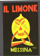 ILLUSTRATORE FORTUNATO DEPERO  IL LIMONE 1926 MESSINA FG NV SEE 2 SCANS - Pubblicitari