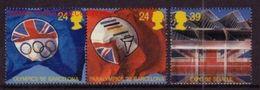 GRAN BRETAÑA 1992 - GREAT BRITAIN - OLYMPICS GAMES BARCELONA 92 - YVERT Nº 1621-1623 - MICHEL 1402-04 SCOTT 1451-53 - Verano 1992: Barcelona
