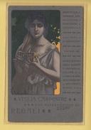 OLD POSTCARD ITALY - ITALIA  -    ADVERTISING -  BOLOGNA  SOCIETA BARBIERI   - 1900'S - Bologna