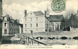 N°55291 -cpa Fécamp -le Pont De La Rue Saint Nicolas- - Fécamp