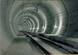 140991  Storia Postale Svizzera  Tunnel Di Base Del Lotschberg Treno Bahn - Svizzera