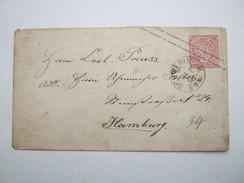 1868 , SCHWERIN , Klarer Stempel Auf Ganzsache - Mecklenburg-Schwerin
