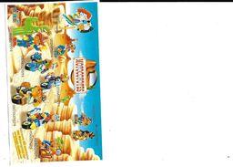 Lot De 8 Figurines KINDER - MOTOCOYOTTES - 2004 Et  7 BPZ  - Lire Descriptif SVP - Families