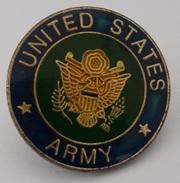Pins United States Army - Militaria