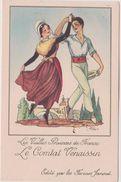 Illustrateur :  J. Droit De Chez Farines Jammet :  Région : Le  Comtat  Vénaissin - Droit