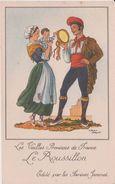 Illustrateur :  J. Droit De Chez Farines Jammet :  Région : Le  Roussillon - Droit