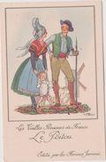Illustrateur :  J. Droit De Chez Farines Jammet :  Région : Le  Poitou - Bébé, Moulin) - Droit