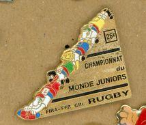L# - PIN´S:  CHAMPIONNAT DU MONDE JUNIORS DE RUGBY - Rugby