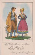 Illustrateur :  J. Droit De Chez Farines Jammet :  Région : La  Marche , Berger , Mouton - Droit