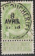 _7Be-698: N° 83: Type E11: GAND(BOUCHERIE) - 1893-1907 Wappen