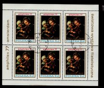 Polen Kleinbogen 2508 Briefmarkenausstellung Used Gestempelt - Blocks & Sheetlets & Panes