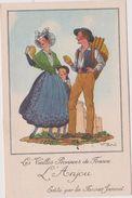 Illustrateur :  J. Droit De Chez Farines Jammet :  Région :l Anjou - Droit