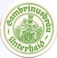 #D159-138 Viltje Gambrinus - Beer Mats