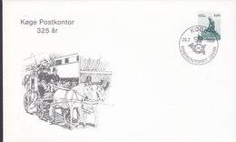 Denmark Sonderstempel Special Cancel Køge Postkontor 325 År Years KØGE 1989 Cover Brief Little Mermaid Meeresfrau Stamp - Denemarken