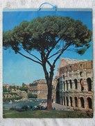 Calendrier 1964 Assurances Mesureur-Gueur & Esselen - Charleroi - Photos Rome , Malaga , Paris , Cambridge , ...(4385) - Calendriers