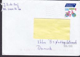 Netherlands PRIORITY 2010 Cover Letra BRØNDBY STRAND Denmark Bicycle Velo Fahrrad Stamp - 1931-Heute: 2. Rep. - ... Juan Carlos I