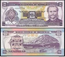 Honduras 2 LEMPIRAS 2006 P 80Ae UNC - Honduras