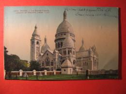 CPA  PARIS -   LE SACRE COURE ABADIE ET MAGNE ARCH   CIRCULE'  - C-  805 - Unclassified
