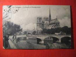 CPA  PARIS -   LE PONT DE L'ARCHEVECHE   CIRCULE'  - C-  808 - Unclassified
