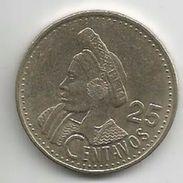 Guatemala 25 Centavos 1998. KM#278.6 - Guatemala