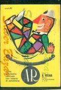 PUBBLICITARIE- A.  REINA- MILANO - Publicité