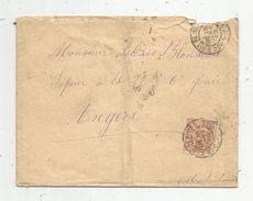 Lettre , GARE DE NIORT ,1902 - Storia Postale