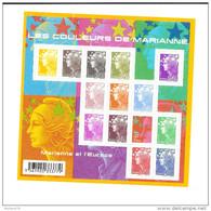 Bloc Feuillet N° 4409 Les Couleurs De Marianne, De 2009, Valeur Faciale + De 10 Euros - Neufs