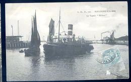 Cpa Du 62  Boulogne Sur Mer Le Vapeur Holland    Sep17-06 - Boulogne Sur Mer