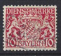 Bayern Dienst 1916-20  (o) Mi.26y - Bavière