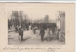 Lille,Roubaix,par Le Nouveau Boulevard,le Vélodrome Du Parc Barbieux (coureur Cycliste Sport Cycle Cyclisme)très Animée - Cyclisme