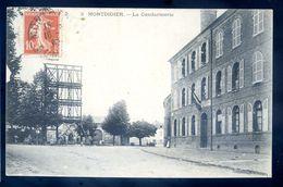 Cpa Du 80  Montdidier -- La Gendarmerie   Sep17-06 - Montdidier