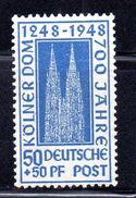 BIZONA. AÑO 1948. Yvert 40 (MNH) - Zona Anglo-Américan
