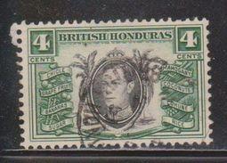 BRITISH HONDURAS Scott # 118 Used - KGVI & Exports - British Honduras (...-1970)