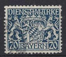 Bayern Dienst 1916-20  (o) Mi.28y - Bavière