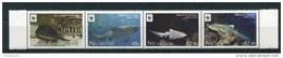 """WWF - Tongo Niuafo`ou - Mi.Nr. 441 / 444 - """"Zebrahai"""" ** / MNH (Jahr 2012) - W.W.F."""