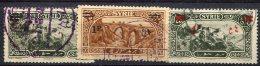 Syrie                  180 - 190 - 199  Oblitérés - Syria (1919-1945)