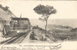 06   LA TURBIE Chemin De Fer à Crémaillère - France