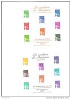 Bloc   Feuillet. N° 44,et 45  Neuf, Les Mariannes, Valeur Faciale 8,88 Euros - Blocs & Feuillets