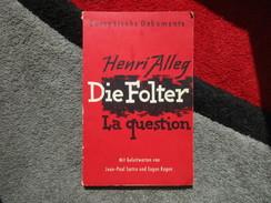 Die Folter (La Question) (Henri Alleg) De 1958 - Livres, BD, Revues