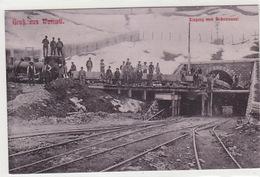 Gruss Aus Wattwil - Eingang Zum Rickentunnel (im Bau) - 1906      (70809) - SG St. Gallen