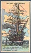 Chromo Chocolat Guerin-Boutron Marine Marchande Navigation 65 Le Challenger Navire Anglais Sondage Des Mers 1873 1876 - Guérin-Boutron