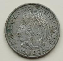Mexico - 50 Centavos - 1964 - Extremely Fine - Mexico