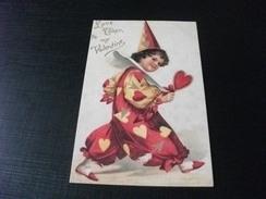 LOVE TOKEN TO MY VALENTINE PICCOLO FORMATO RIPRODUZIONE DA ORIGINALE - San Valentino