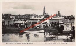 De Schelde En Zicht Op De Stad - Antwerpen Anvers - Antwerpen