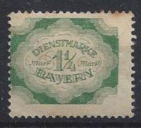 Bayern Dienst 1920  (*) MH Mi.57 - Bavière