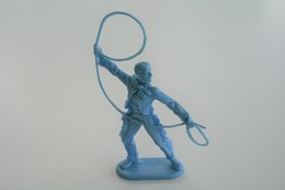 Elastolin, Lineol Hauser, Cowboy, H=70mm, Plastic - Vintage Toy Soldier - Figurines